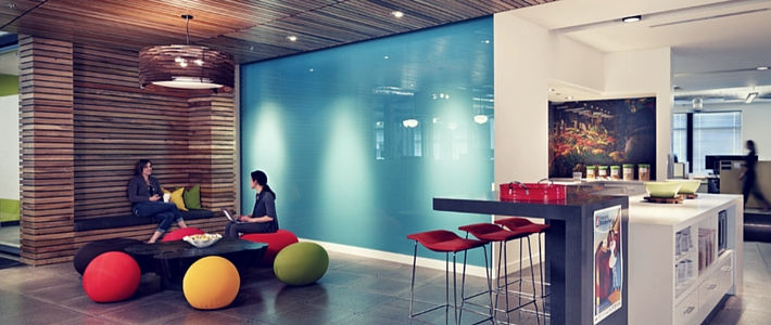 Office design: How work surroundings affect productivity